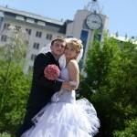 Свадебные фото на прогулке в Старом Осколе.