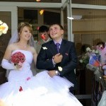 Мы поженились! Свадьба Сергея и Наталии в Старом Осколе на фото.