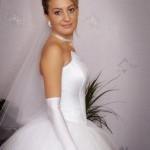 Невеста - свадьба у Сергея и Ирины, ноябрь 2009, г. Губкин