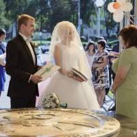Регистрация брака в беседке семьи, г. Губкин