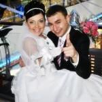 Свадьба Андрея и Оксаны в г. Губкине Белгородской области. 05.02.2011