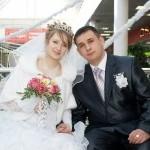 Свадьба Александра и Евгении, февраль 2011 год, г. Губкин.