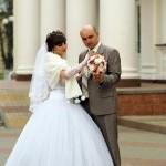 Свадебное фото Алексея и Ирины, Губкин - апрель2011 год.
