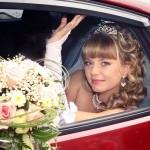 Свадебные катания, фото.