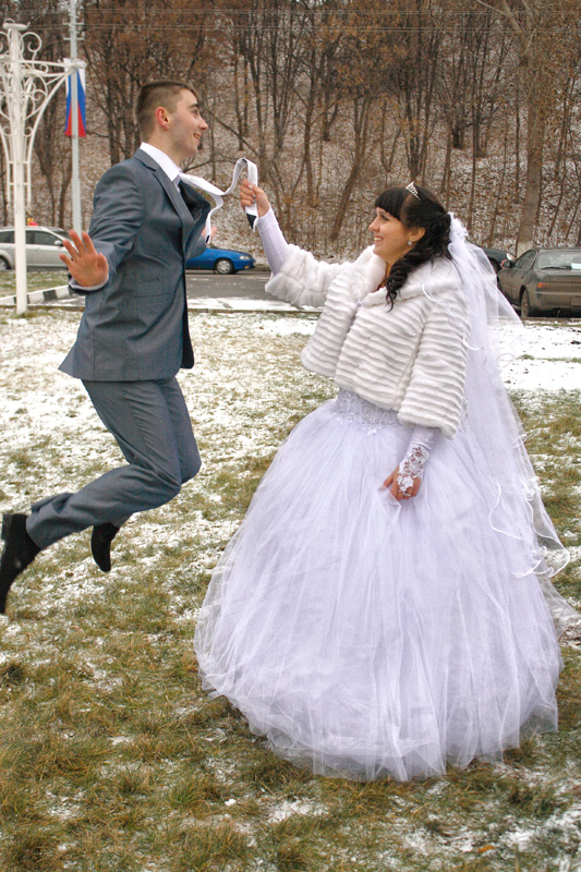 Фото свадеб в ноябре 69