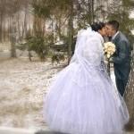 Зимняя свадебная прогулка - фотки.